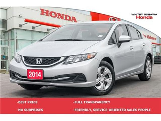 2014 HONDA Civic LX   Manual in Whitby, Ontario