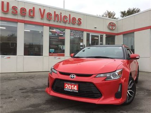 2014 SCION TC BLUETOOTH, ALLOYS, SUNROOF, KEYLESS ENTRY in Toronto, Ontario