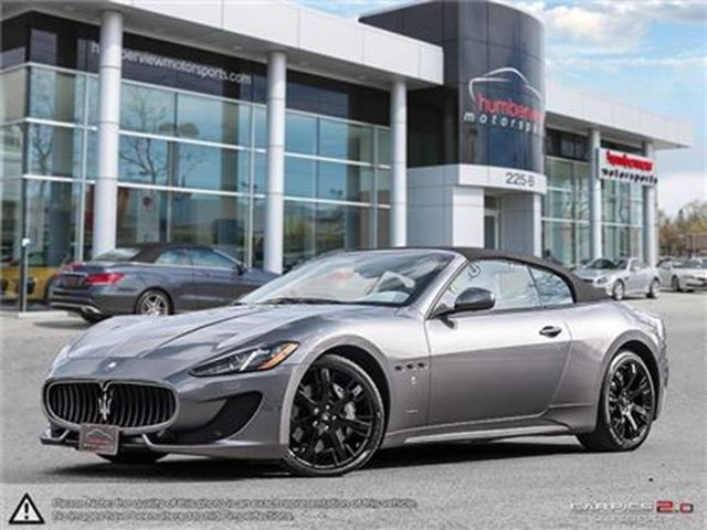 2015 MASERATI GRANTURISMO CAR-PROOF CLEAN   LOW MILEAGE   NAVI in Mississauga, Ontario