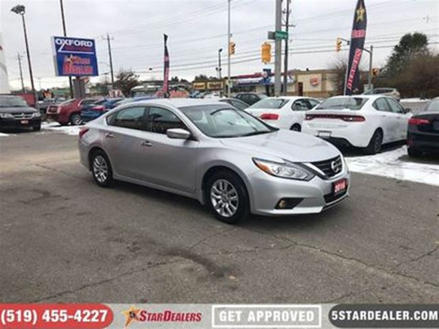 2016 NISSAN ALTIMA 2.5 S   ONE OWNER   CAM in London, Ontario