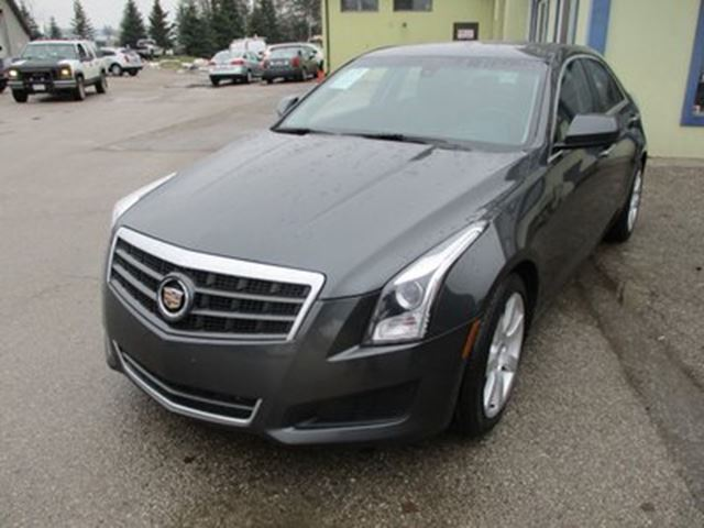 2014 CADILLAC ATS LOADED 'SPORTY' 5 PASSENGER 2.5L - DOHC.. LEATH in Bradford, Ontario