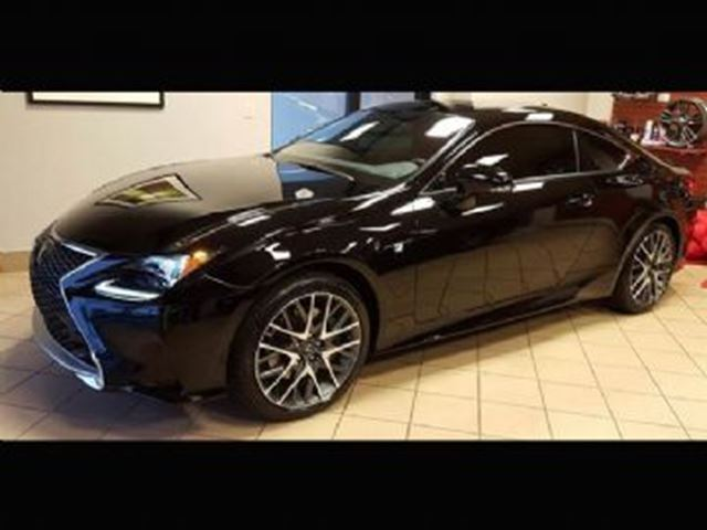 2016 LEXUS RC 350 Cpe AWD F Sport 2, Technology in Mississauga, Ontario