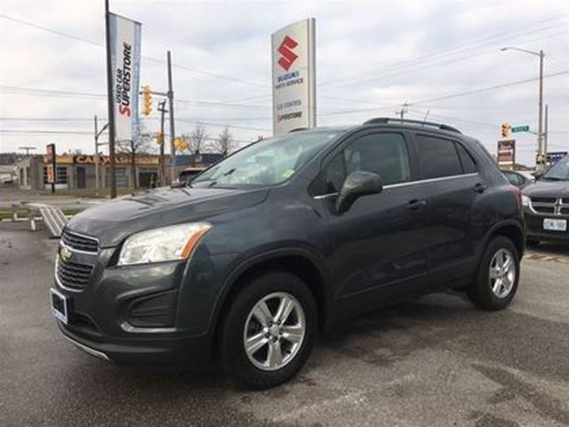 2013 CHEVROLET TRAX LT ~All-Wheel Drive ~Fuel Efficient ~10 airbags in Barrie, Ontario
