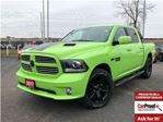 2017 Dodge RAM 1500 SPORT**SUBLIME GREEN**SUNROOF**NAV**LOW KMS!!** in Mississauga, Ontario