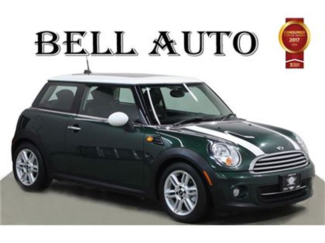 2013 MINI COOPER COOPER LEATHER SUNROOF BLUETOOTH HEATED SEATS AUX in Toronto, Ontario