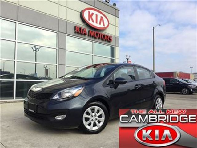 2013 KIA Rio LX+ KIA CERTIFIED PRE-OWNED in Cambridge, Ontario