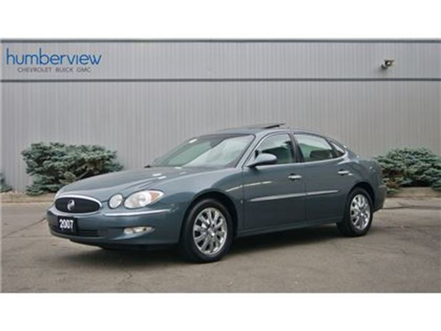 2007 BUICK ALLURE CXL LOW KM SUNROOF LEATHER CHROME WHEELS in Toronto, Ontario