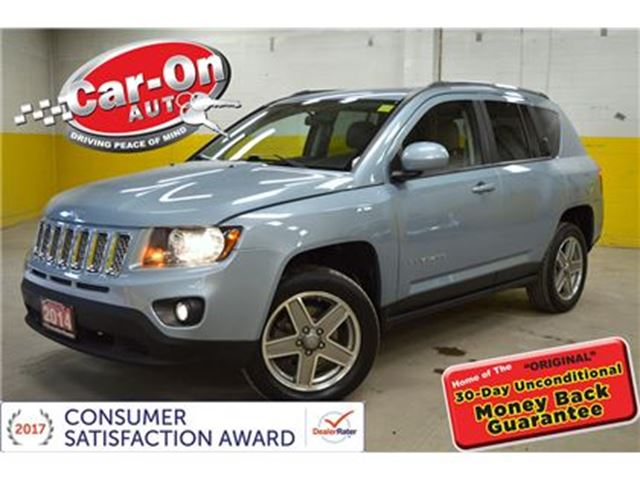 2014 JEEP COMPASS NORTH 4X4 LEATHER in Ottawa, Ontario