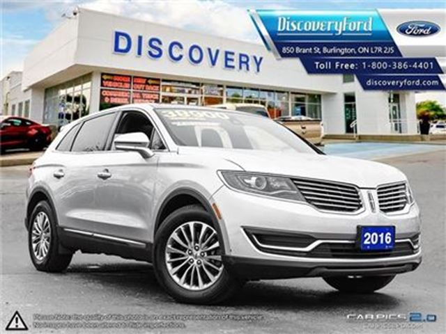 2016 LINCOLN MKX Select in Burlington, Ontario