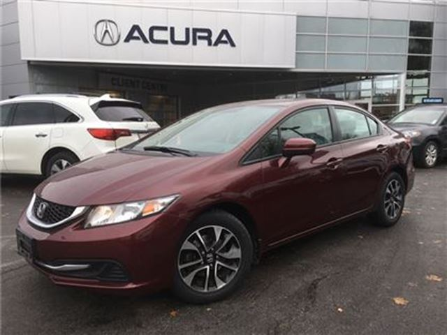 2015 HONDA CIVIC EX   HTDSEATS   OFFLEASE   5SPD   ONLY58013KMS in Burlington, Ontario