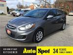 2013 Hyundai Accent GL/LOW, LOW KMS/PRICED FOR A QUICK SALE ! in Kitchener, Ontario