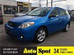 2007 Toyota Matrix LOW, LOW KMS!/PRICED FOR A QUICK SALE! in Kitchener, Ontario