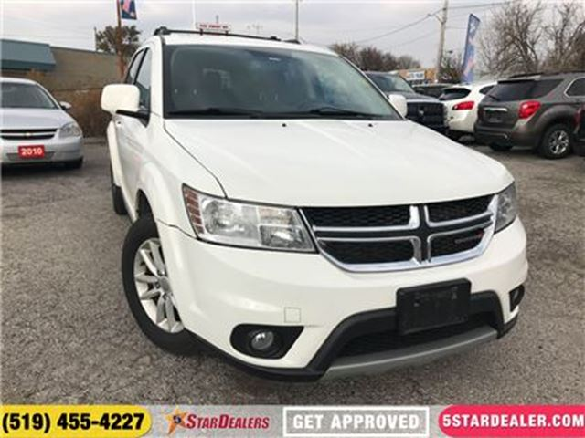 2015 DODGE JOURNEY SXT   7PASS in London, Ontario