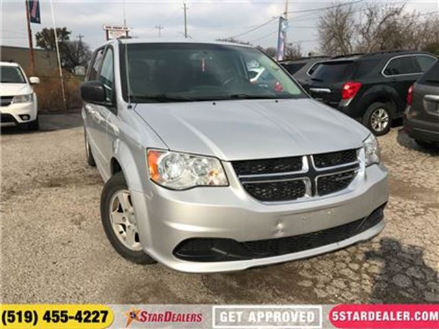 2011 DODGE GRAND CARAVAN SE   STOW-N-GO   SAT RADIO in London, Ontario