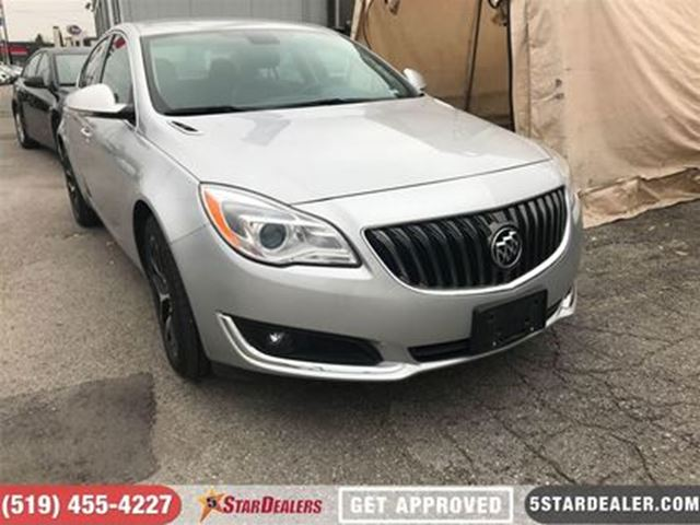 2017 BUICK REGAL Sport Touring   LEATHER   CAM   ONE OWNER in London, Ontario