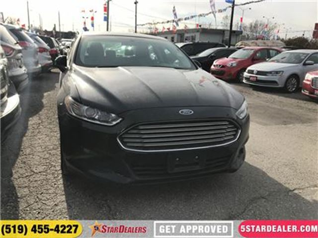 2013 FORD FUSION S   ONE OWNER   SAT RADIO   BLUETOOTH in London, Ontario