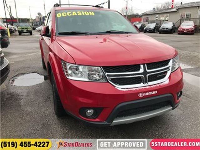 2014 DODGE JOURNEY SXT   ONE OWNER   7PASS in London, Ontario