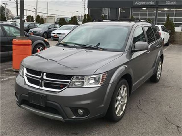 2013 DODGE JOURNEY Crew   7PASS   DVD   CAM   REAR AIR in London, Ontario