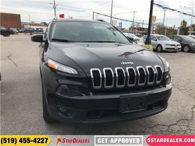 2016 JEEP CHEROKEE North   ONE OWNER   4X4   HEATED SEATS in London, Ontario