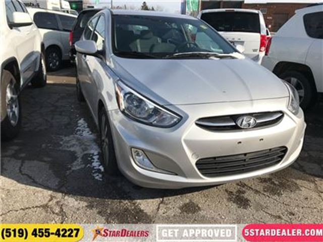 2017 HYUNDAI ACCENT GL   ROOF   HEATED SEATS in London, Ontario
