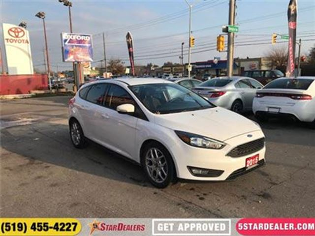 2015 FORD FOCUS SE   CAR LOANS FOR ALL CREDIT in London, Ontario