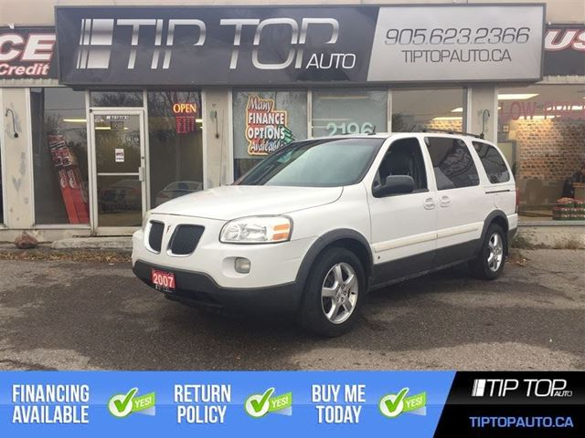2007 Pontiac Montana SV6 w/1SB ** DVD Player, Low Km's, Well Equipped ** in Bowmanville, Ontario