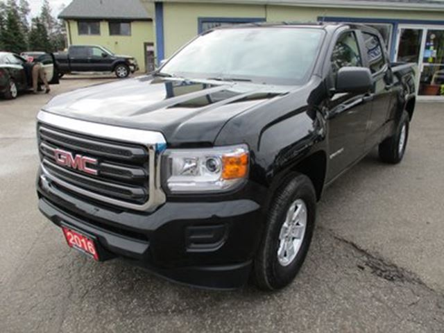 2016 GMC CANYON GREAT KM'S SLE EDITION 5 PASSENGER 3.6L - V6..  in Bradford, Ontario