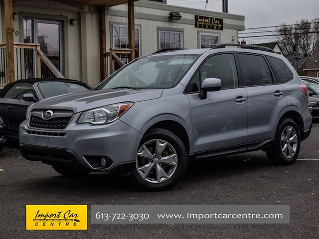 2016 SUBARU FORESTER 2.5i Convenience Package in Ottawa, Ontario