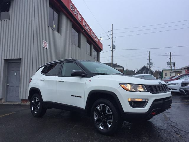 2017 JEEP COMPASS Trailhawk in Brockville, Ontario