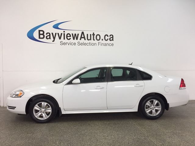 2013 CHEVROLET IMPALA LS- 3.6L|ALLOYS|A/C|ON STAR|CRUISE|LOW KM! in Belleville, Ontario