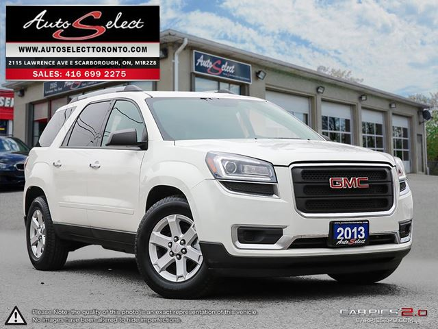 2013 GMC ACADIA AWD ONLY 129K! **8 PASSENGER SUV** BACK-UP CAMERA in Scarborough, Ontario
