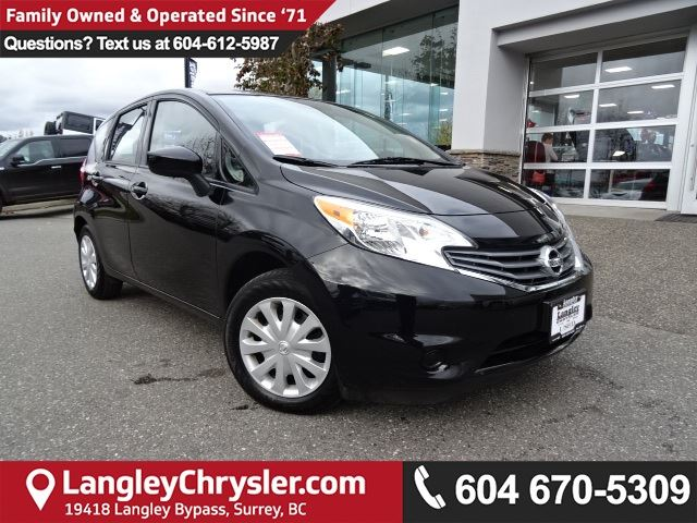 2016 NISSAN VERSA 1.6 SV *DEALER INSPECTED*PROFESSIONALLY DETAILED* in Surrey, British Columbia