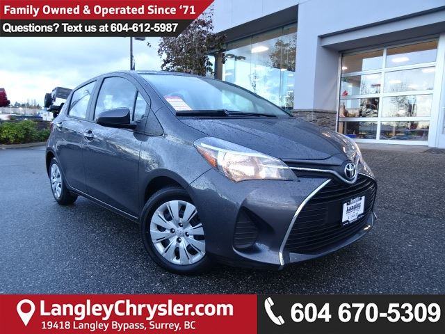 2016 TOYOTA YARIS LE *ACCIDENT FREE * LOCAL BC CAR * in Surrey, British Columbia