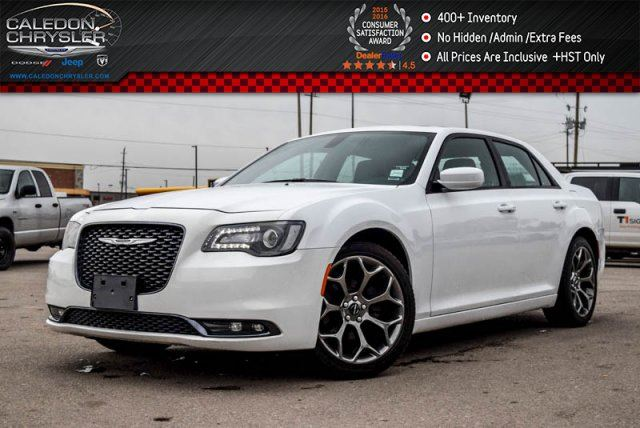 2016 CHRYSLER 300 S Navi Pano Sunroof Backup Cam Bluetooth Leather R-Start 20Alloy Rims in Bolton, Ontario