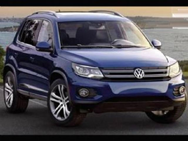 2017 VOLKSWAGEN TIGUAN 4MOTION Highline in Mississauga, Ontario