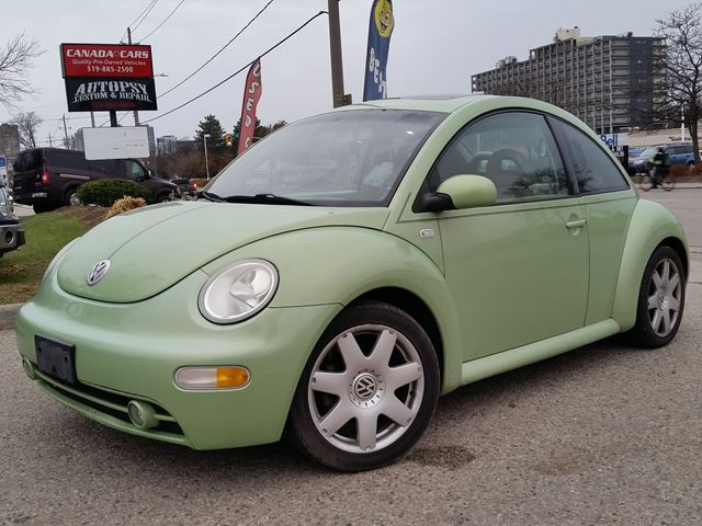 2002 VOLKSWAGEN NEW BEETLE GLX Turbo in Waterloo, Ontario