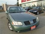 2006 Nissan Sentra 4dr Sdn I4 AUTO 1.8 NO ACCIDENTS AUX  PL,PM,PW SAF in Oakville, Ontario