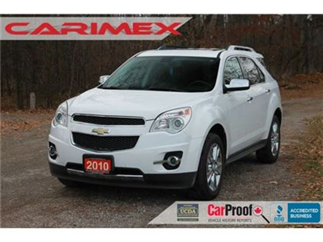 2010 CHEVROLET EQUINOX LTZ AWD   V6   CERTIFIED in Kitchener, Ontario