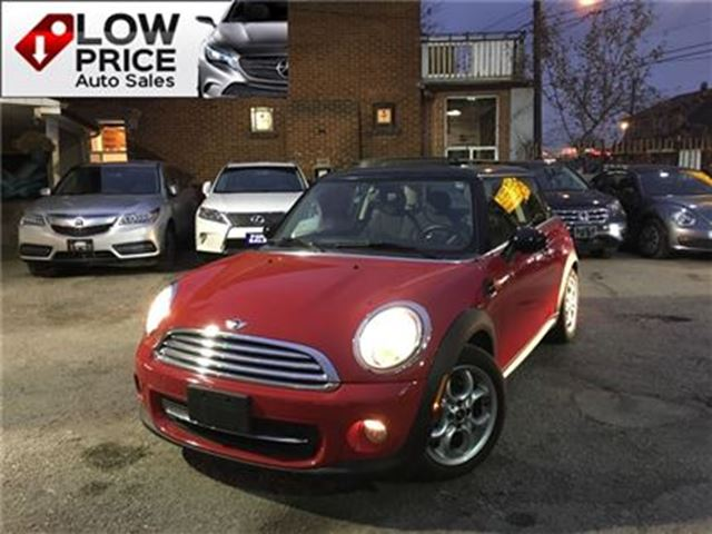 2013 MINI COOPER Cooper*PanoramicRoof*HtdSeats*Bluetooth*MiniWarr* in Toronto, Ontario