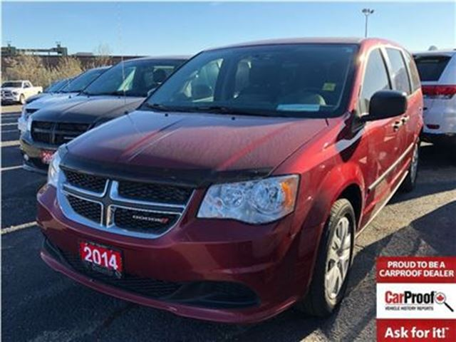 2014 DODGE GRAND CARAVAN CANADIAN VALUE PACKAGE**POWER WINDOWS**LOW KMS** in Mississauga, Ontario