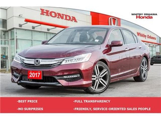 2017 HONDA Accord Touring   Automatic in Whitby, Ontario