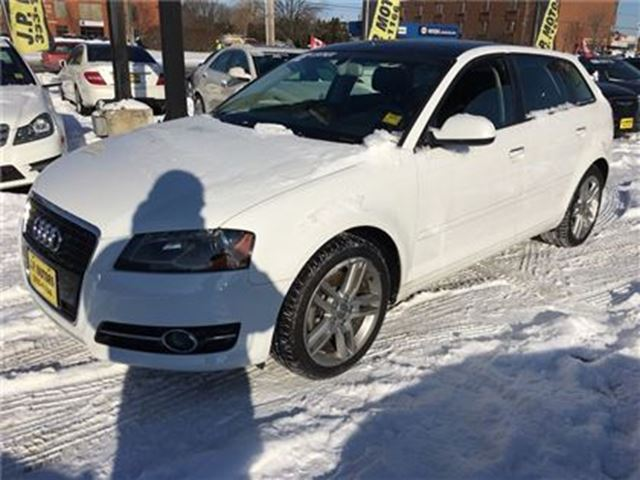 2012 AUDI A3 2.0T Progressive, Manual, Leather, 63,000km in Burlington, Ontario