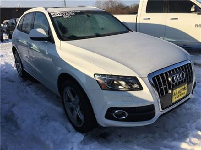 2012 AUDI Q5 2.0L Premium Plus, S-LINE, Navi, Leather, AWD in Burlington, Ontario