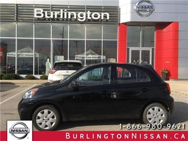 2015 NISSAN MICRA S in Burlington, Ontario