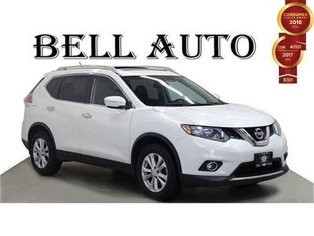 2015 NISSAN Rogue SV PANORAMIC SUNROOF AWD ALLOYS BLUETOOTH in Toronto, Ontario
