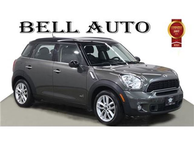 2014 MINI Cooper Countryman COOPER AWD S LEATHER PANORAMIC SUNROOF in Toronto, Ontario