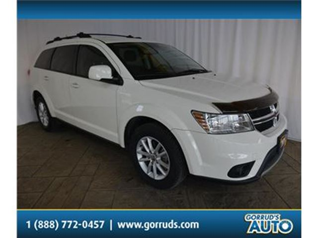 2014 DODGE JOURNEY SXT/FWD/V6/BLUETOOTH/CRUISE/HEATED MIRRORS/ALLOY in Milton, Ontario