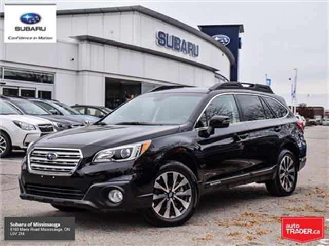 2017 SUBARU OUTBACK 3.6R Limited w/Tech Pkg in Mississauga, Ontario