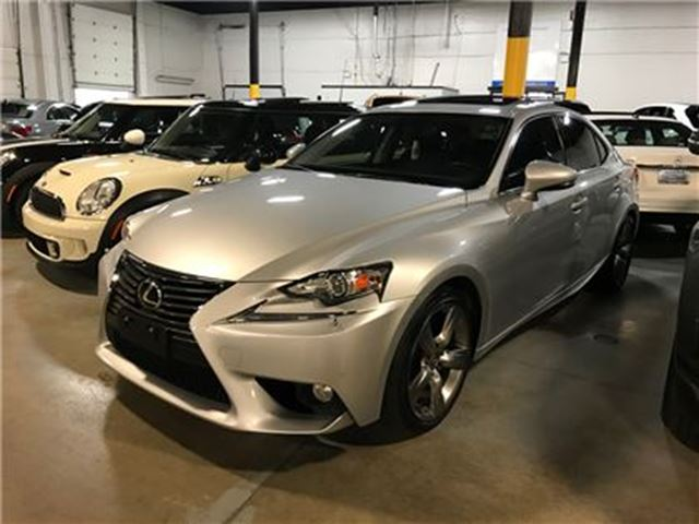 2014 LEXUS IS 350 AWD NAVIGATION MOONROOF in Mississauga, Ontario