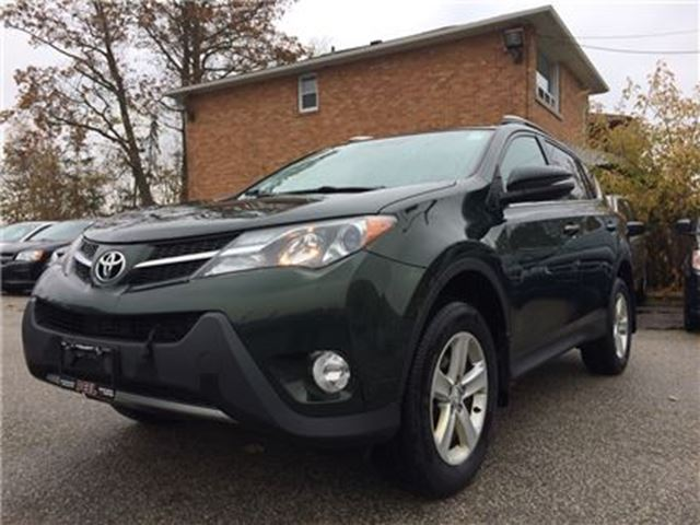 2013 TOYOTA RAV4 XLE**NAV**ROOF**AWD**BACK-UP CAM** in Mississauga, Ontario